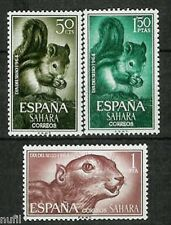 SAHARA Edifil # 236/238 ** MNH Set. Fauna / Animals