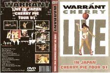 warrant live in japan tour dvd 1991 cherry pie dokken van halen white lion