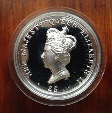ASCENSION ISLANDS 2012 HIGH RELIEF SILVER DIAMOND JUBILEE COIN PIEDFORT