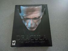 "Dracula: The Last Sanctuary ""B"" ganar 95/98/ME Nib Caja Grande"