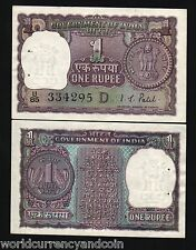 INDIA 1 RUPEE P77j 77k 77L 1972 1973 COIN UNC CURRENCY MONEY BILL ONE PIECE NOTE