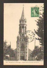 LE CHESNAY prés VERSAILLES (78) EGLISE SAINT-ANTOINE-DE-PADOUE animée en 1916