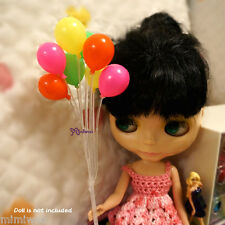 1/6 Bjd Dollfie Yo-SD Momoko Blythe Hujoo Doll Miniature Mini Balloon 8pcs Set