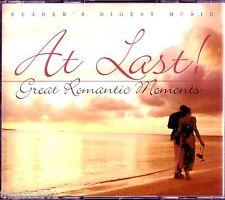 Readers Digest At Last Great Romantic Moments 4CD Box Classic 50s 60s Pop Rare