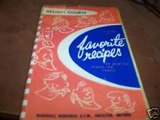 Favorite Recipes or how to please the family booklet