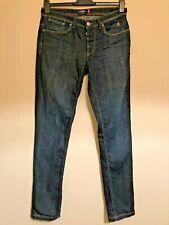 Jaggy Mens Slim Fit Blue Denim Stretch Jeans Size 33 / 34
