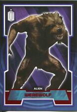 Doctor Who 2015 Red Parallel [50] Base Card #115 Werewolf