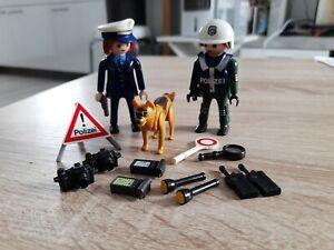 Playmobil Polizei Figuren mit Zubehör