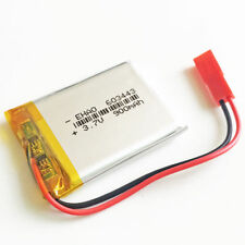 3.7V 900mAh Lipo Battery recharge JST SYP-2P connector F GPS mobile phone 603443