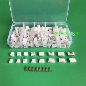 80Sets of JST PH 2.0MM 2P 3P 4P 5P JSY JST Pin Connector&Terminal arduino
