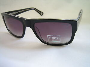 HOOK LDN SUNGLASSES BLITZ 26HK003-BLK BLACK GENUINE BNWT