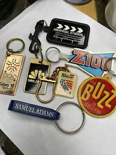 Lot Of Collectible Keychains Key Rings - Television, Radio…