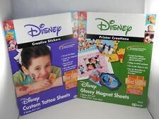 Disney Computer Craft Kits - Create Your 00006000  Own Custom Magnets & Temporary Tattoos