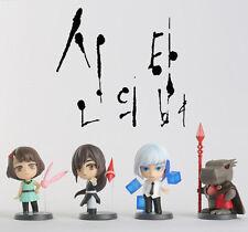 Korea webtoon Minifigure Tower of god  figure combine  (New) 4 Character