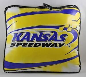 Seat Cushion Kansas Speedway Raceway Race Souvenir NASCAR RETIRED
