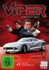 JAMES/HAREWOOD, MC CAFFREY - VIPER-KOMPLETTBOX: ALLE VIER  22 DVD NEU