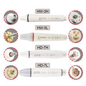 Dental Woodpecker / DTE LED Ultrasonic Piezo Scaler Handpiece Fit EMS / SATELEC