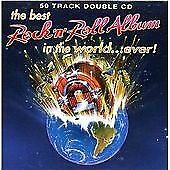 Various : The Best Rock n Roll Album in the world. CD FREE Shipping, Save £s