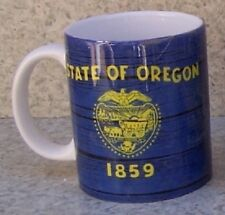 Coffee Mug Explore America Oregon State Flag NEW 11 ounce cup with gift box