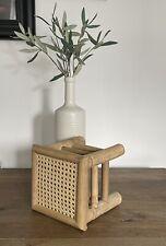 "Cane Webbing Furniture Rattan (24"" Width X 24"" Length) 60cm X 60cm Up cycling"