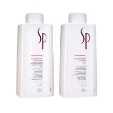 WELLA SP Color Save Shampoo Conditioner 1000 ml SET Haarshampoo Haarpflege NEU