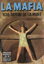 Roman Photo petit format - LA MAFIA n° 4, H38 : SERUM DE LA MORT