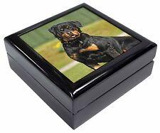 Rottweiler Dog Keepsake/Jewellery Box Christmas Gift, AD-RW6JB