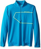 Spyder Commander Therma Stretch T-Neck Pullover Shirt Mens 1/2 Zip Long Sleeve