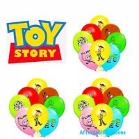 Set Of 7 Toy Story Printed 12inch Latex Birthday Party Balloons Decoration.