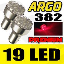 2X T20 1156 BA15S 382 P21W 19 LED CAR TAIL BRAKE SIGNAL LIGHT LAMP BULB
