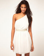 Polyester One Shoulder Patternless ASOS for Women
