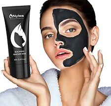Blackhead Remover Mask, Peel Off Mud Facial Mask, 2.11 Oz, by Nylea