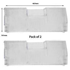 BEKO Freezer Fridge Drawer Cover Front Flap CDA660 CDA660FS CDA660FW (Pack of 2)