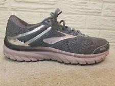 Brooks Women's Adrenaline GTS 18 Running Shoes Pink Gray Size 8.5B