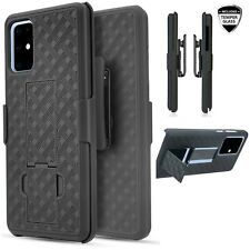 For Samsung S20 Ultra / S20 Plus Screen Protector Holster Shell Combo Kickstand