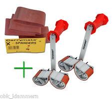 Tragegriff Carrymate 5 | * 1 Paar * | inkl. X-Spanders 4 Stück