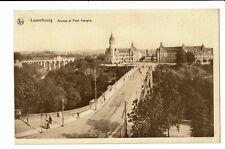 CPA - Carte postale- Luxembourg ville - Avenue et Pont Adolphe  S3263