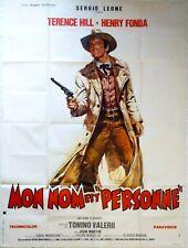 affiche western MON NOM EST PERSONNE TERENCE HILL HENRY FONDA - 120 x 160 cm