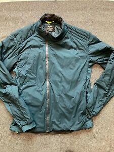 Rapha Transfer Jacket XL Winter Thermal Navy Blue