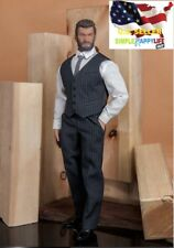 1/6 Men light gray Classic suit Western-style / MUSCLE Body PHICEN M34 M35 ❶USA❶