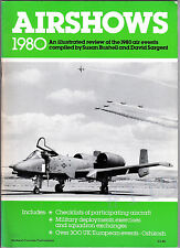 AIRSHOWS 1980 - Illustrated Review of 1980 UK European Air Events  David Sargent