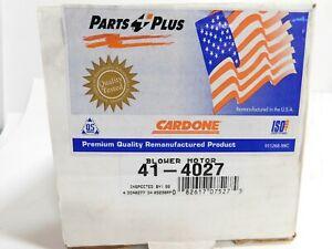 HVAC Blower Motor Cardone 41-4027 Reman 87-94 Ford Taurus
