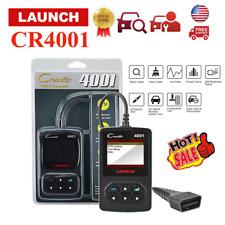 Launch CR4001 Diagnostics Scanner Tool Code Reader Check Engine OBD2 OBDII EOBD