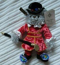 Christopher Radko Plush Teddies Around the World Ornament Charles British S/8
