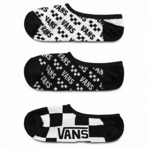 Vans Off The Wall Glow In the Dark Socks 3 Pack Womens Kids Size 1-6