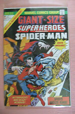 9.6 Nm+ Giant Size Super Heroes Spider-Man # 1 German Euro Variant W/Owp