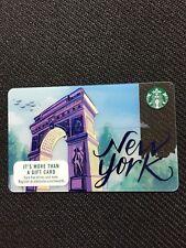Starbucks 2017 New York City Washington Square Gift Card