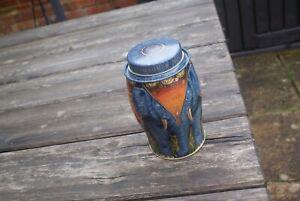Williamson Elephant Tea Caddy Tin Still Has Inner Cap