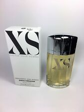 XS Excess Pour Homme by Paco Rabanne EDT For Men 3.4 oz / 100 ml *NEW IN TST BOX