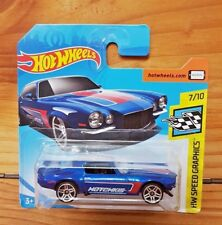 Hot Wheels 2018 HW SPEED GRAPHICS 7/10 '70 CAMARO 153/365 SHORT CARD (A+/A-)
